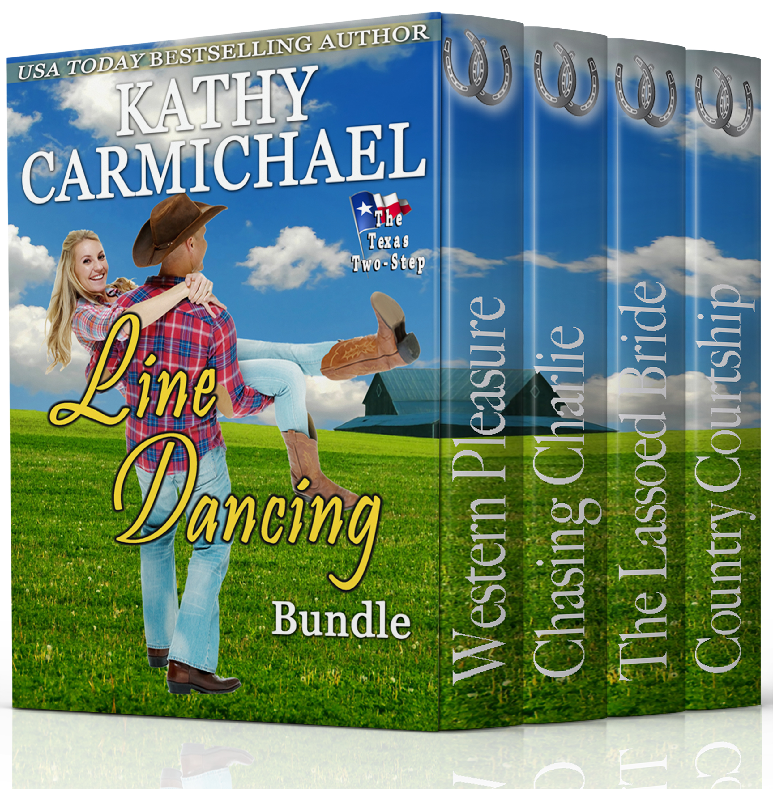 Linedancingfinal3dsize TEXAS TWO STEP Bundle The First Four Titles Contemporary Western Romance